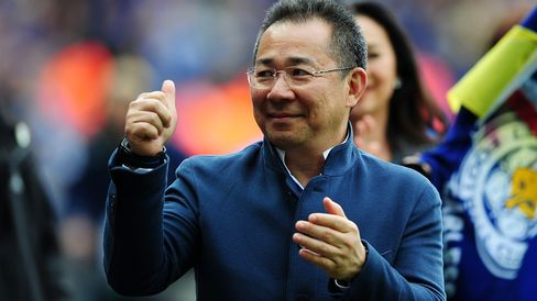 Leicester City's owner Vichai Srivaddhanaprabha bought the club when it was struggling outside England's rich top division