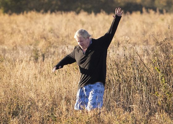 Johnson Trolls Theresa May Even on His Morning Jog: Tory Update
