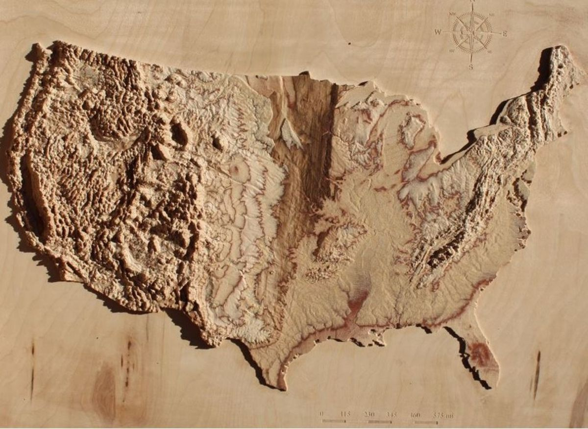 Stunning 3D Topographic Maps of Any Place on Earth