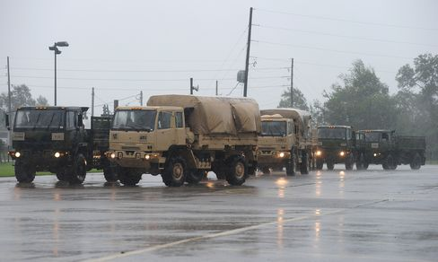 Louisiana Guard Troops Empty Nursing Home as Floodwaters Surge