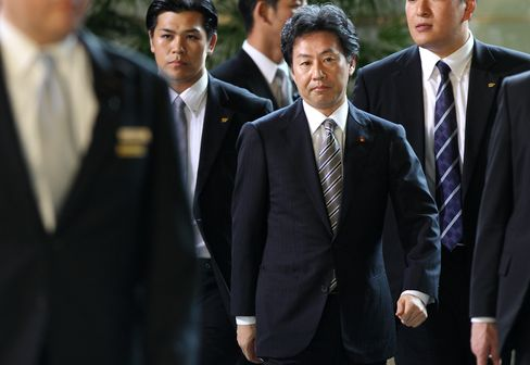 Japan's Newly Named Finance Minister Jun Azumi