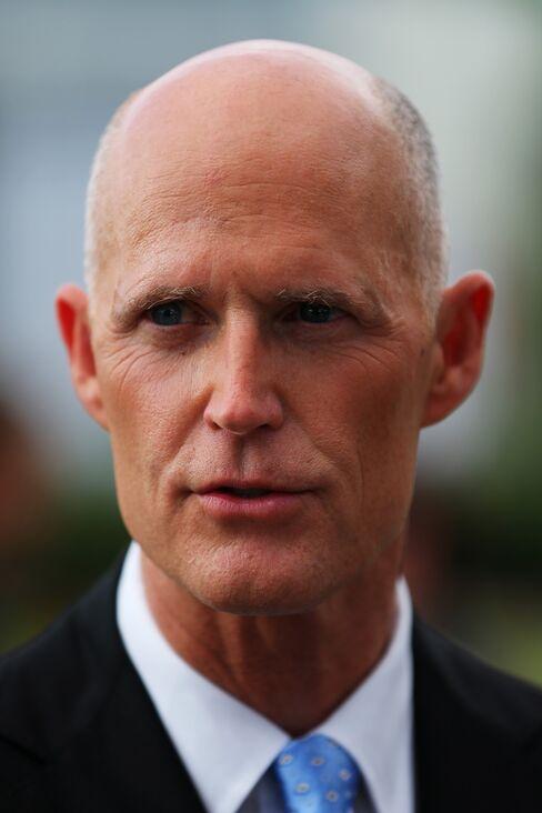 Florida Republican Governor Rick Scott