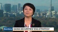 relates to Daiwa Deputy President Tashiro on Japan Stimulus, Expansion, ESG Investing
