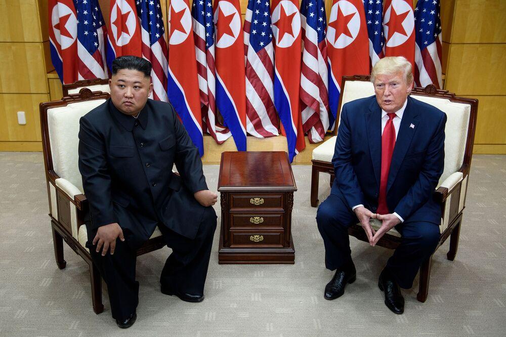 Kim Jong Un Bolsters Nuclear Threat To U S As Trump Talks Stall Bloomberg