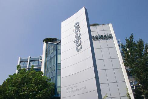 Celesio AG Headquarters Stand in Stuttgart