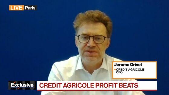 Credit Agricole Profit Beats Estimates as Provisions Decline