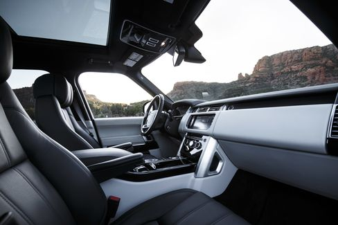 """The 2016 Land Rover Range Rover is available in five trim levels: Base, HSE, Supercharged, Autobiography and SV Autobiography. A five-passenger layout is standard, with four-passenger """"executive class"""" seating optional."""