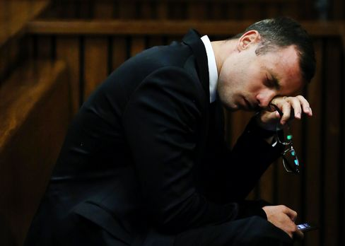 South African Paralympic Star Oscar Pistorius