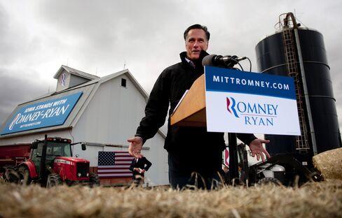 U.S. Republican Presidential Candidate Mitt Romney