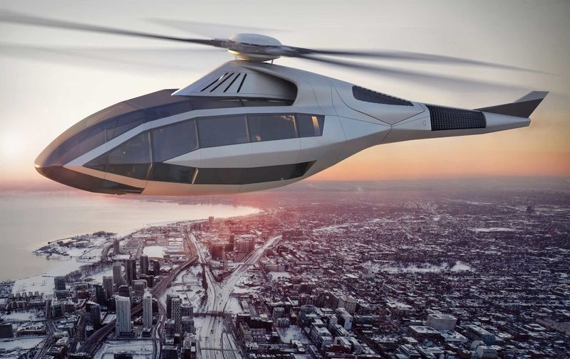 Look Inside The Sleekest Helicopter That Will Never Fly