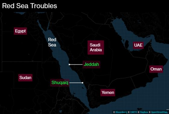 Blast at Saudi Port Hits Oil Tanker as Red Sea Attacks Mount