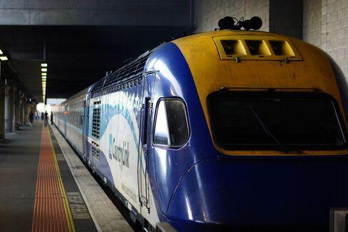 Sydney-Melbourne train