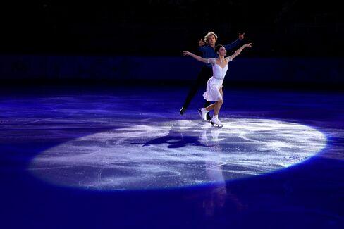 U.S. Figure Skaters Meryl Davis and Charlie White