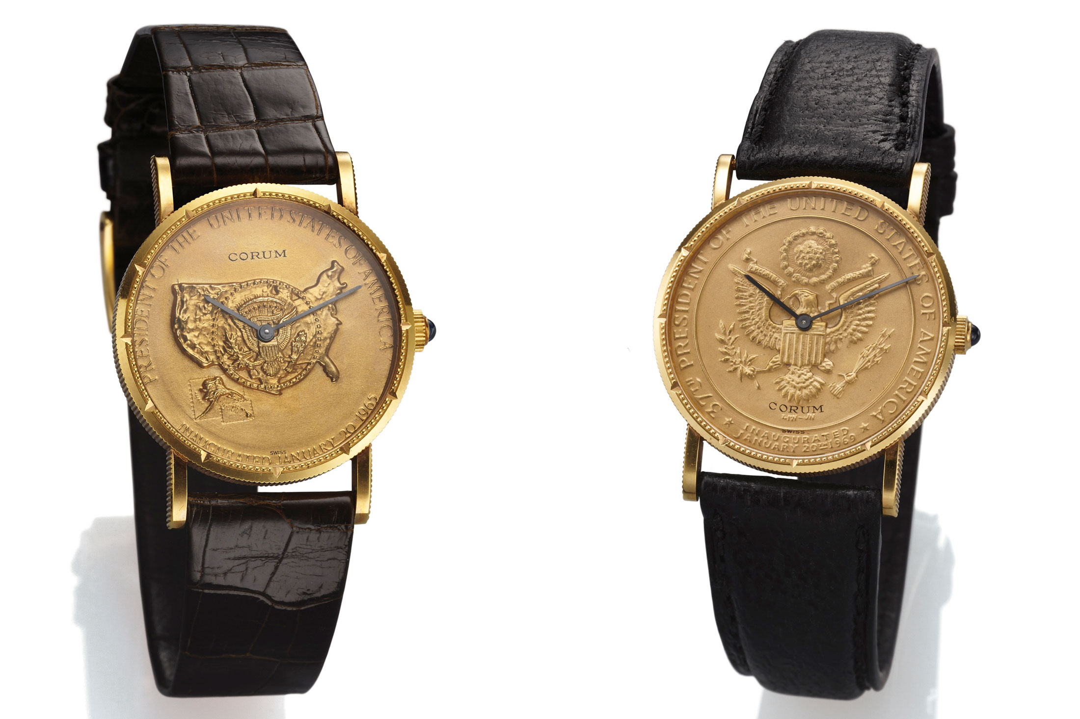 Pair of Corum Presidential Inauguration Watches (Lots 191 & 192)
