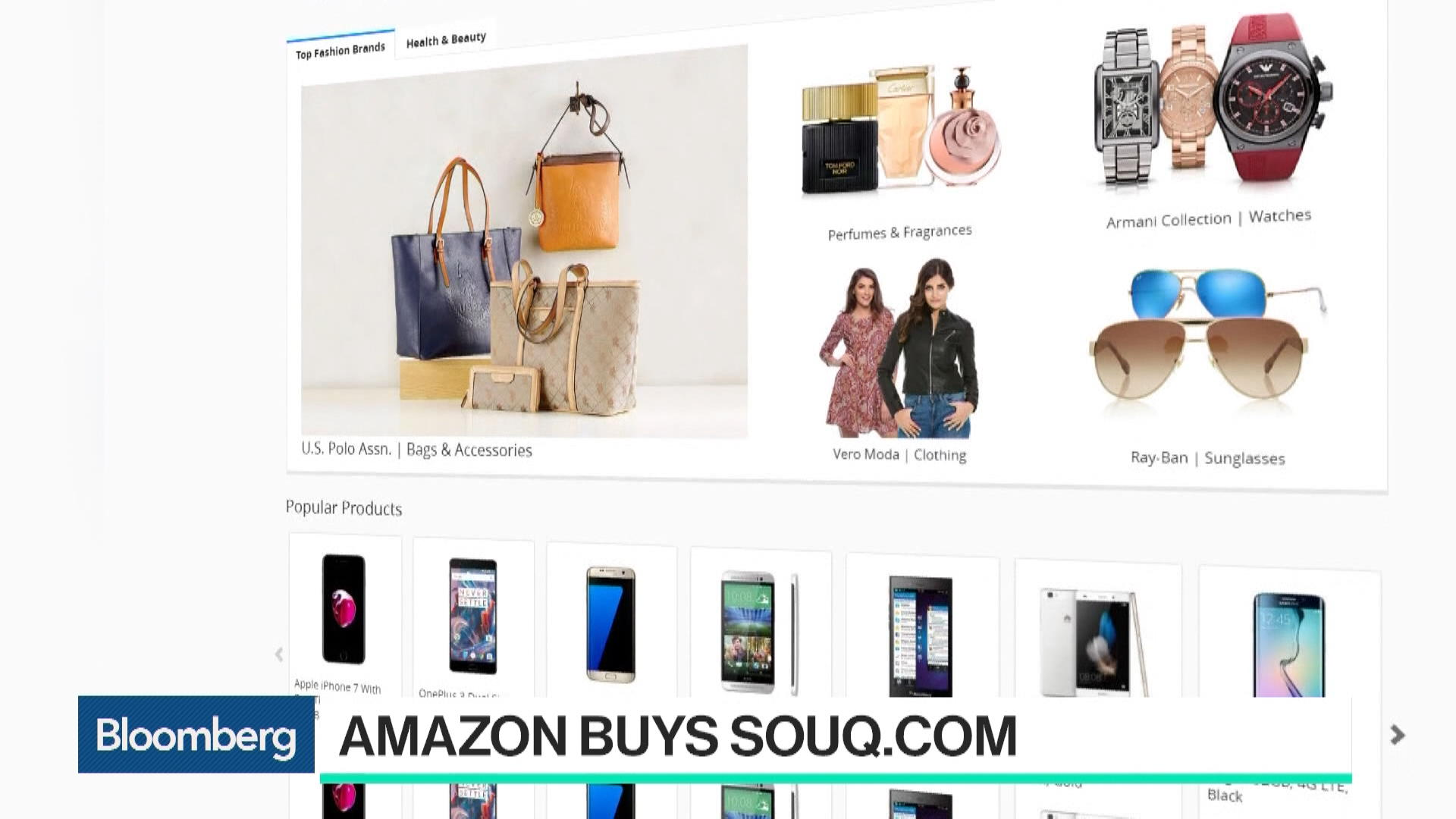 Amazon Buys Souq com as Middle East Online Market Takes Off