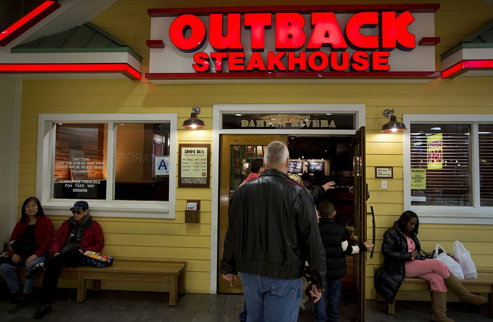 Activist Calls For Bloomin Brands To Shrink Appoint Chair Bloomberg