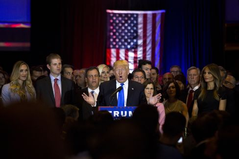 Trump in New York on April 26.