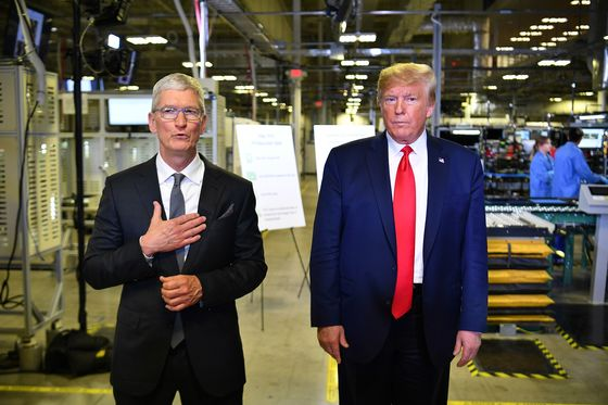 Trump Risks U.S. Jobs While Saving Apple's at Austin Factory