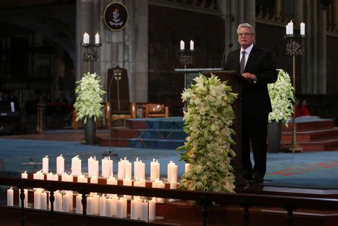 President Joachim Gauck Speaks in Cologne Cathedral
