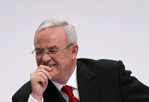 Volkswagen AG CEO Winterkon