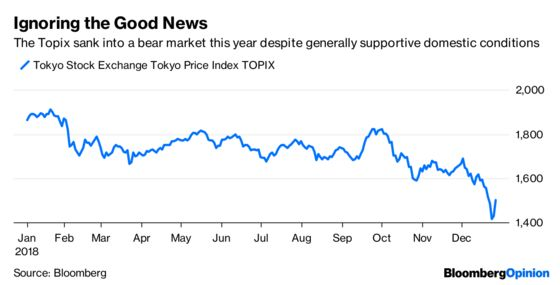 Japan Stocks Can Be the Haven in a Bleak World