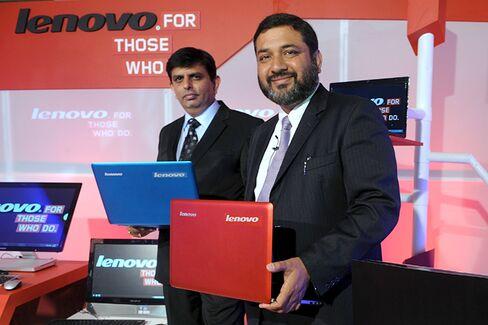 Lenovo's Persistent PC Strategy in India
