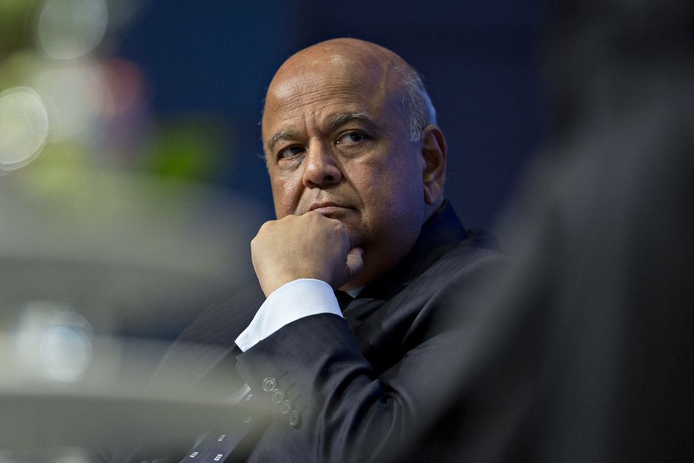 Political Storm Over Gordhan Shakes S. Africa Justice System
