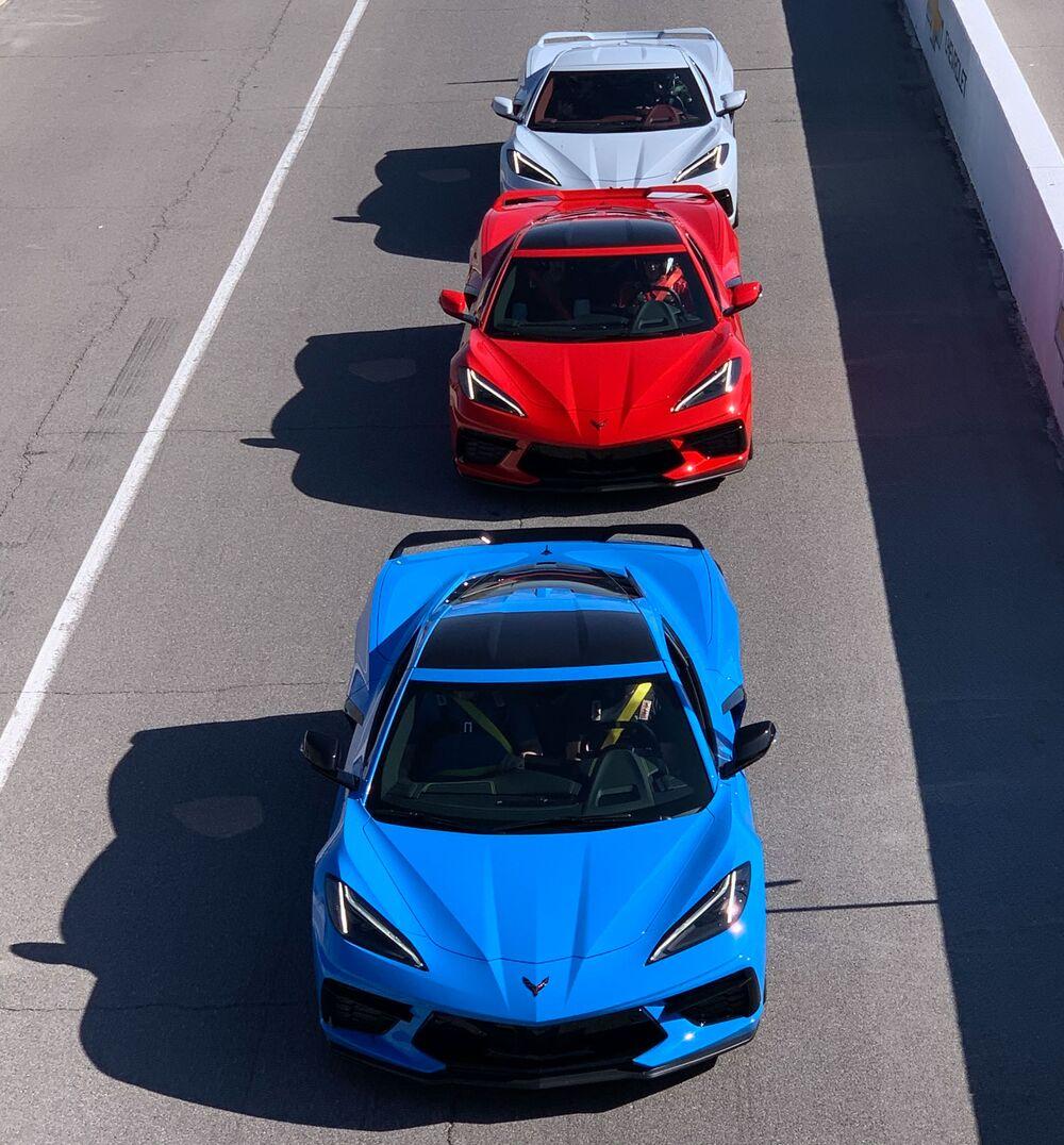 The 2020 Chevrolet Corvette Has Chevy Knocking On Ferrari S Door Bloomberg