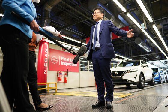 Nissan, Envision to Create $1.4 Billion U.K. EV-Making Hub