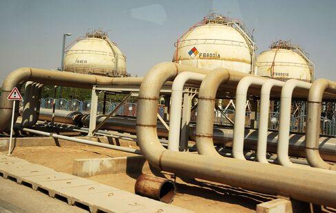 Iran oil production in Mahshahr, Khuzestan province, southern Iran.