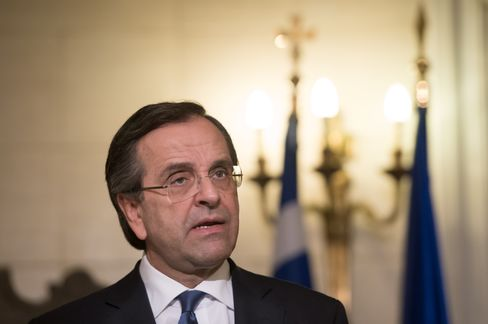 Antonis Samaras Greece's PM