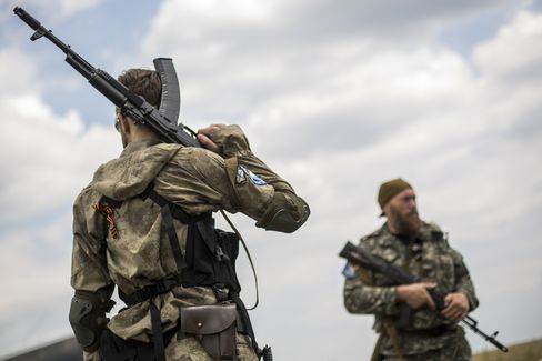 Pro-Russia Rebels in Ukraine