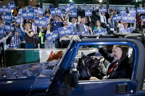 Pennsylvania Gubernatorial Candidate Tom Wolf
