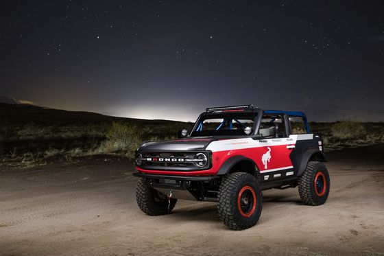 Ford Dominates 'Burning Man For Trucks' With Its New Bronco