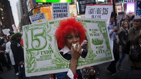 Rally in Support of Minimum Wage Increase