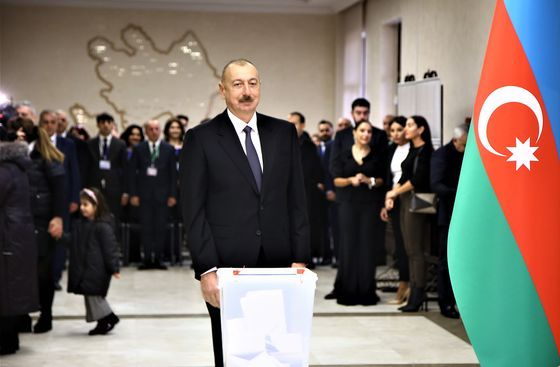 Azeri Snap Elections Condemned by Monitors for Vote 'Violations'
