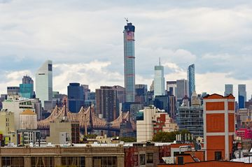 432 Park Avenue, a new addition to the skyline in New York, on Oct. 18, 2014. At 1,396 feet, 432 Park Avenue is now the tallest residential building in Manhattan.