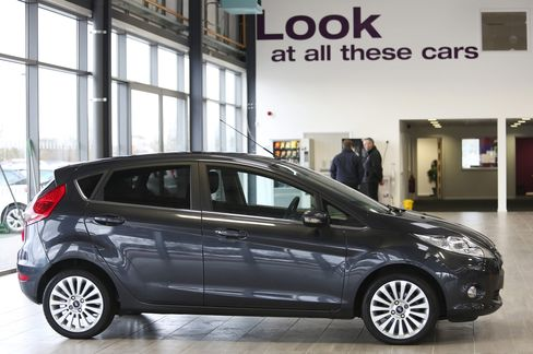 Ford's U.K. Fiesta May End as British Gains Set to Sputter