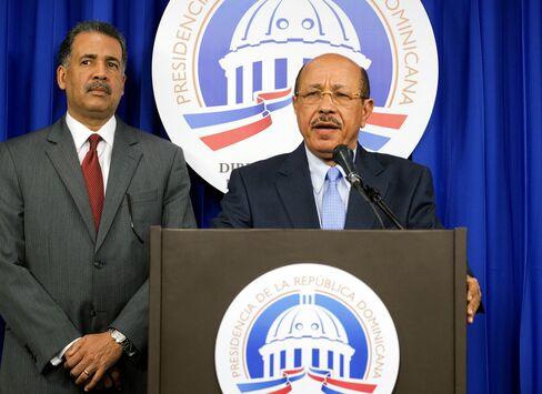 Dominican Republic's Economy Minister Temistocles Montas