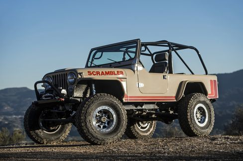 The Jeep comes with a 240-horsepower turbodiesel engine sourced from a Boeing Phantom Badger.