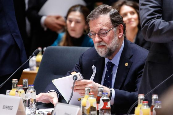 Spain's Rajoy Vows to See Out His Term as Rivals Plot His Ouster
