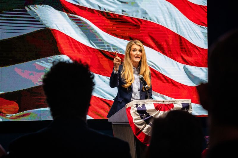 Georgia GOP Election Night Party For Kelly Loeffler And David Perdue