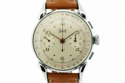 This 1940s chronograph shows a different side of Bovet.