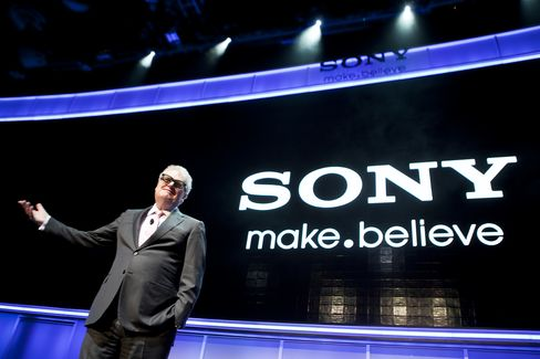 Sony Corp Chief Executive Officer Howard Stringer