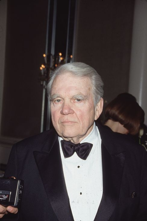 American Television Commentator Andy Rooney