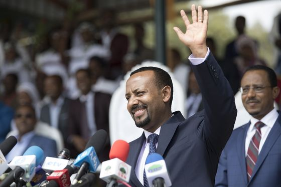 Ethiopian Leader Calls for a Multiparty Democracy