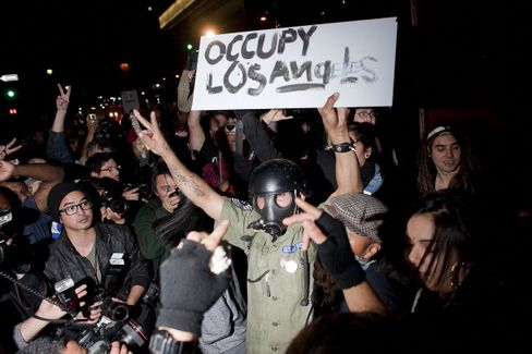 Occupy Wall Street Camps in L.A. Brace for Police