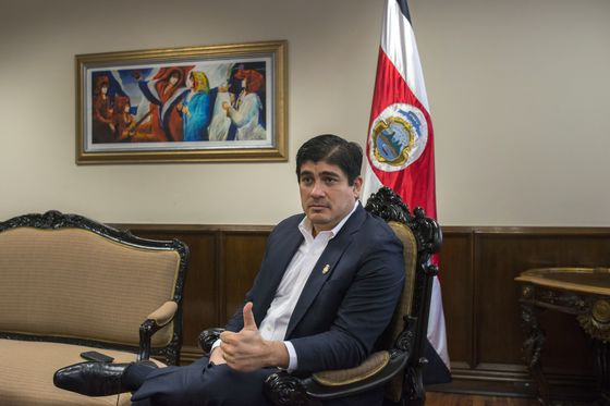 Costa Rica's President Says Cutting the Deficit Will Be His Legacy