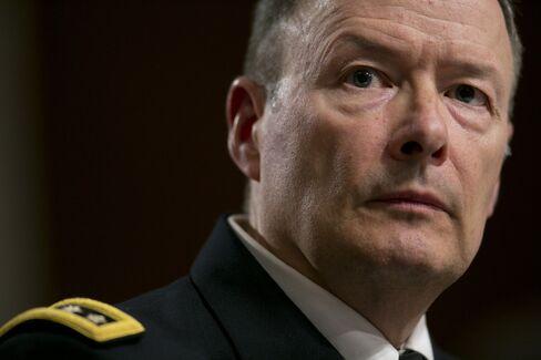 NSA Director, Army General Keith Alexander