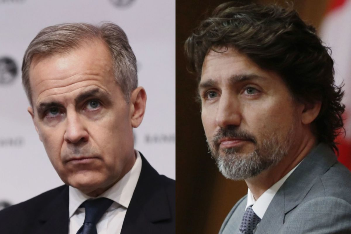Trudeau Taps Carney for Help in Crafting Recovery Plan